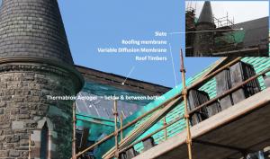 Church Roof Installation